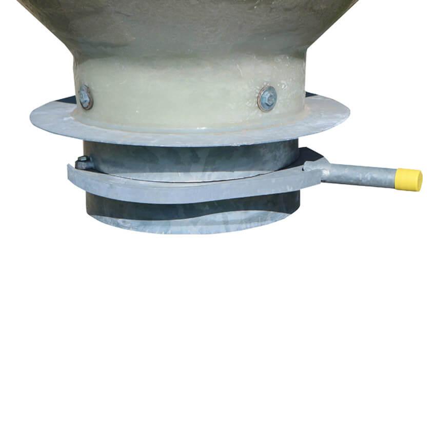 Trappe guillotine galva Ø 300