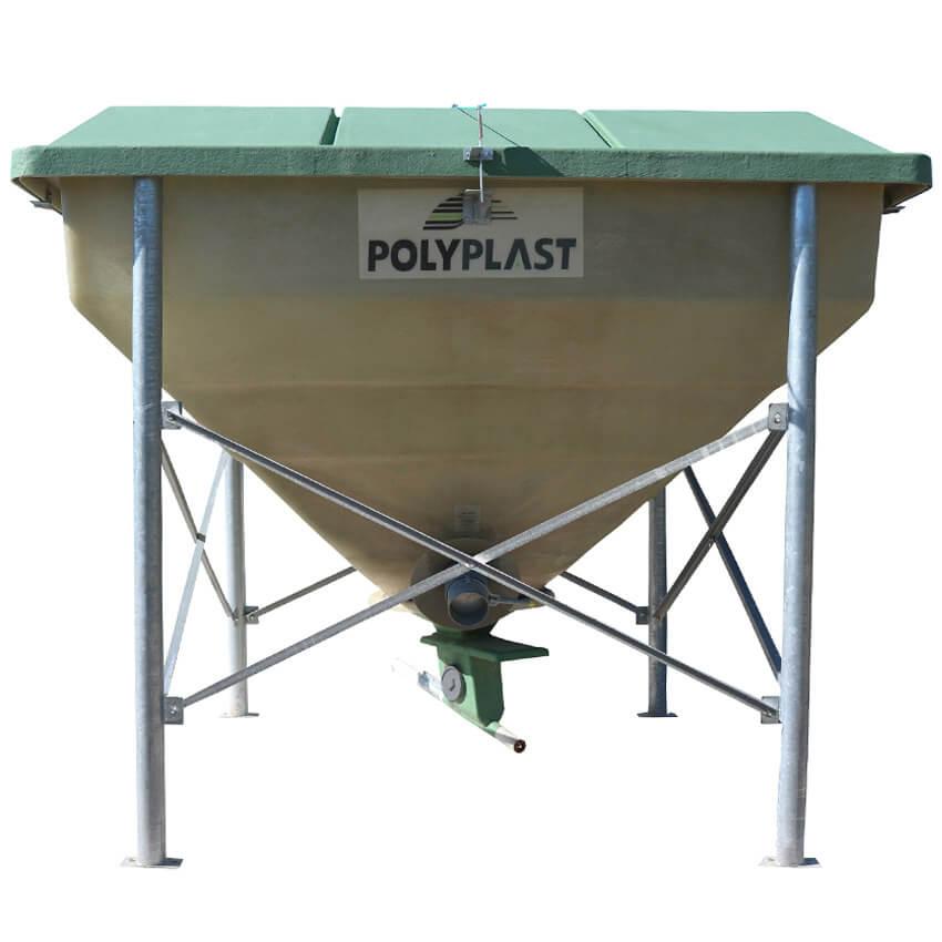 Trémie de stockage Polyvrac 6 m³
