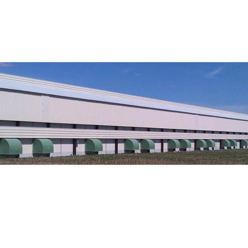 Capots de ventilation pour bâtiments d'élevage
