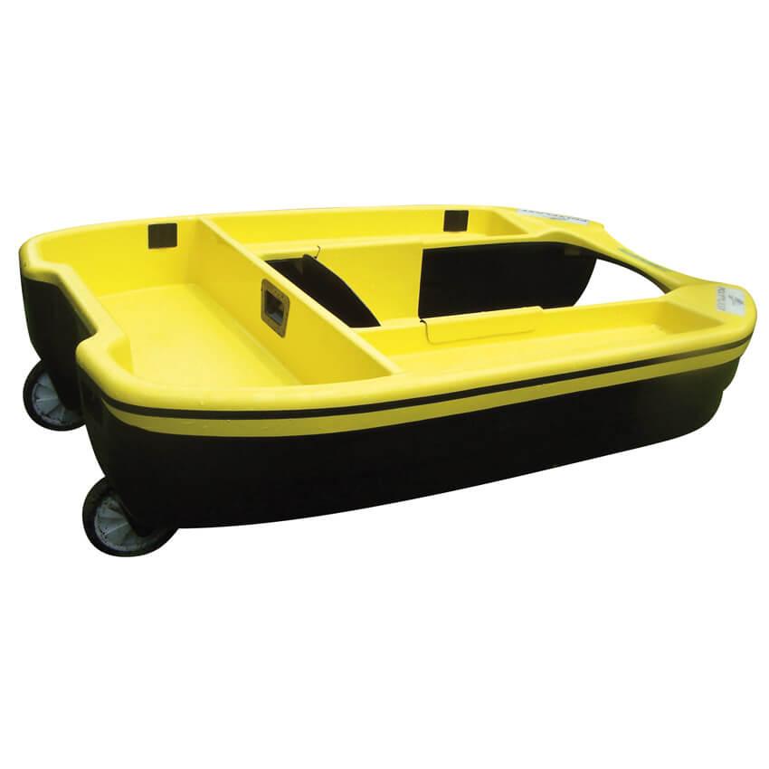 Float tube motorisable