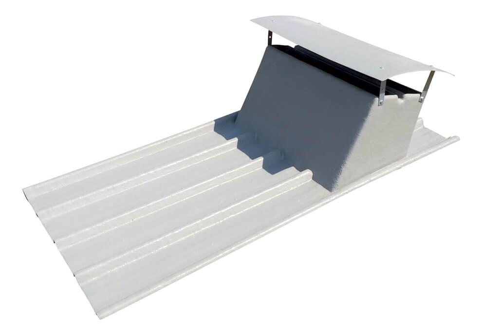 Plaque toiture pour bâtiment agricole