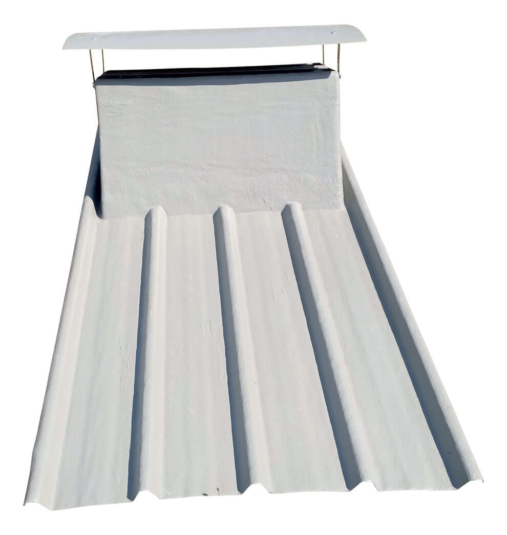 Plaque toiture en polyester