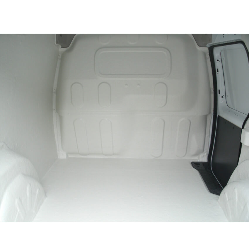 Intérieur de véhicule plastifié